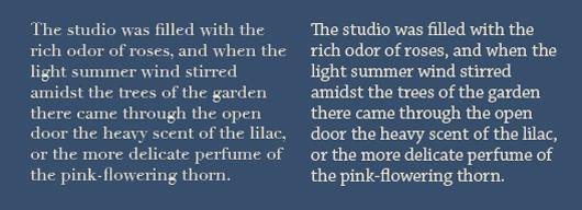 Serif vs  Sans for Text in Print - Fonts com