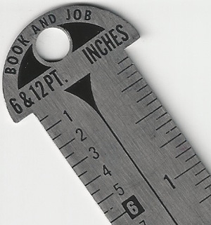 Point & Pica Ruler