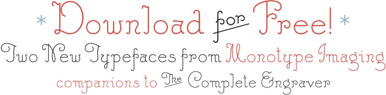 The Complete Engraver - Fonts com