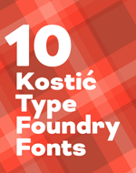 Kostic Type Foundry Flash Sale