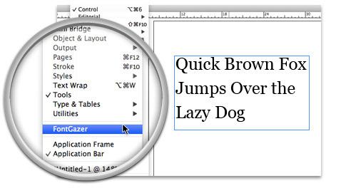 Launch FontGazer
