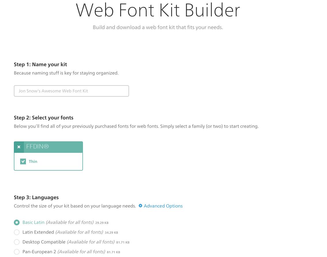 Fonts com - FAQ: How to install Webfonts? - Fonts com