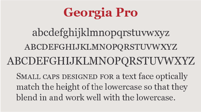 6ea030319c5 Small Caps Small caps designed for text typefaces ...