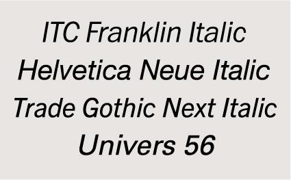 """Italics"""