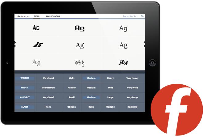 Fonts.com Subscription App
