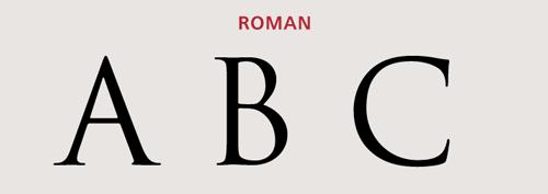 Capital Letters - Roman