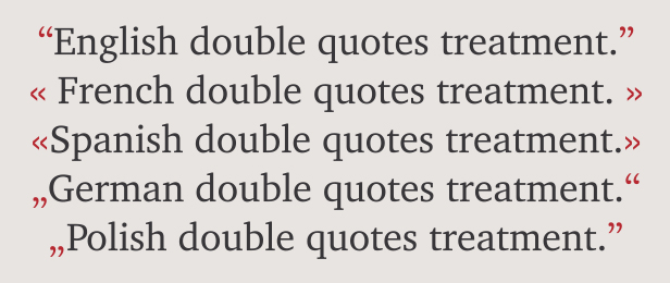 Quote Punctuation Awesome Punctuation  Fonts